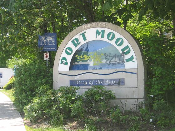Port Moody welcome