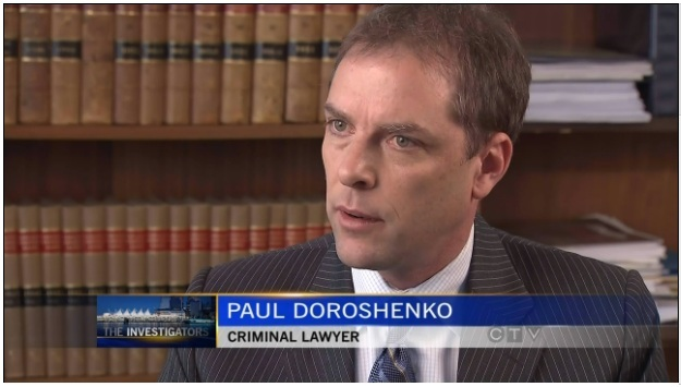 Vancouver Criminal Defense Lawyer Paul Doroshenko