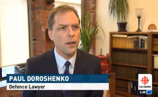 Paul Doroshenko defence lawyer in Vancouver