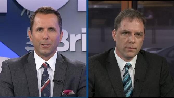 Vancouver lawyer Paul Doroshenko on Global TV