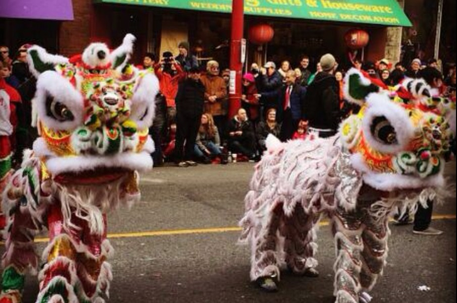 Vancouver Chinese New Years celebrations