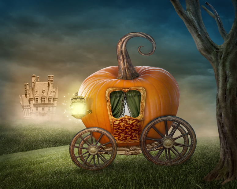When your carriage turns into a pumpkin