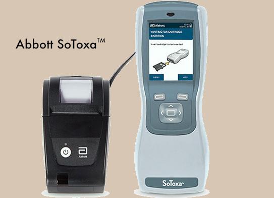 The Abbott SoToxa Mobile Test System